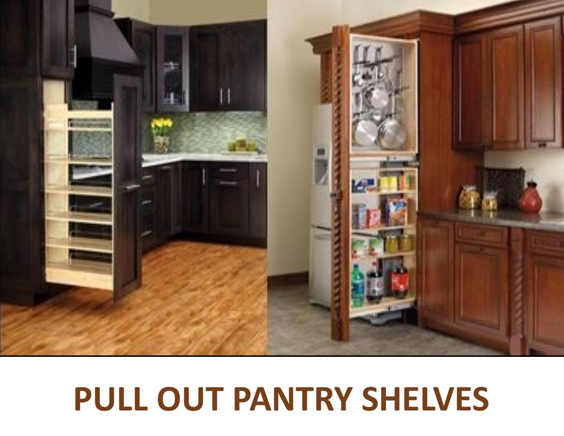 Kitchen Pull Out Shelves Pantry Pull Out Shelves Slide Out