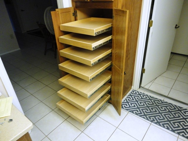 Pull Out Shelves Adjustable Shelves Pilaster