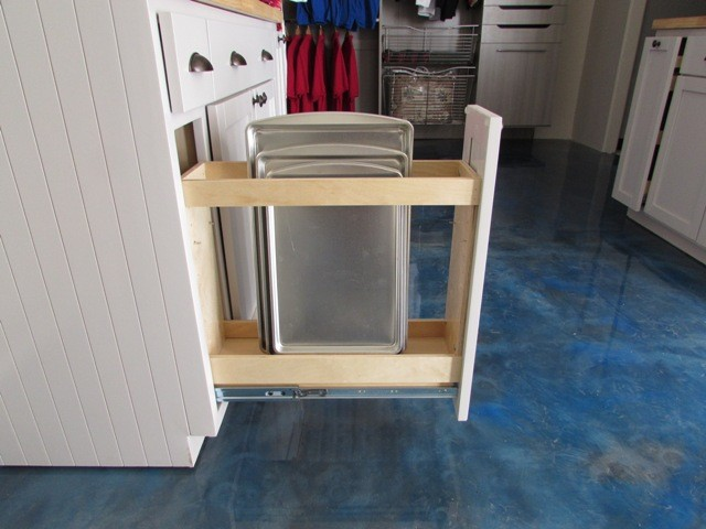 Pull Out Spice Rack Made To Fit Kitchen Cabinets