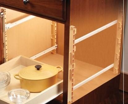 Pull Out Shelves Adjustable Shelves Pilaster