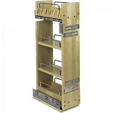 Pull Out Spice Rack For Upper Cabinets | 5 Inch