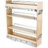 Base Cabinet No Wiggle Pull Out Spice Rack 5-14