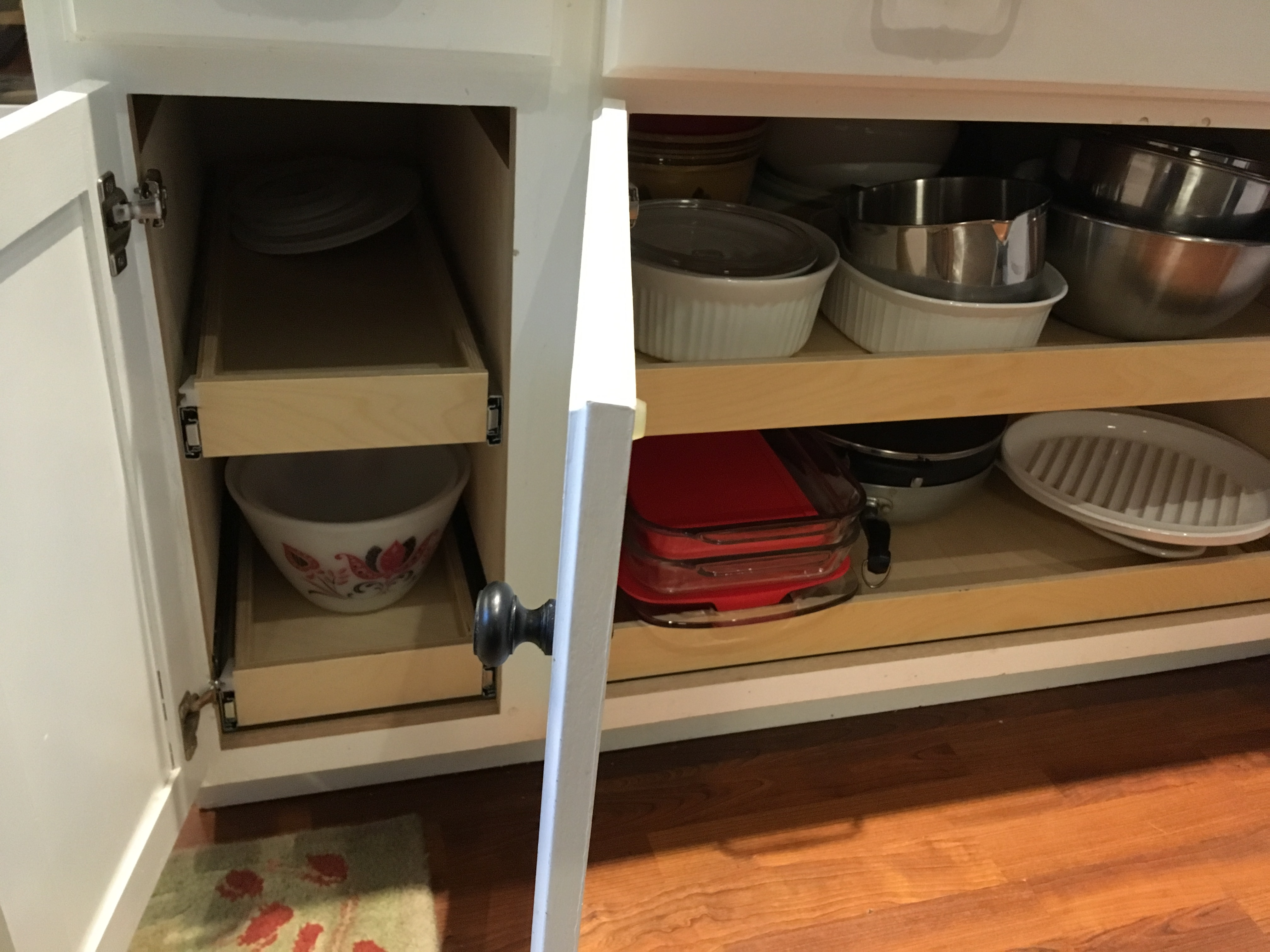 "pull out shelves that slide 16 1//8/"" x 24/"" cabinet sliding shelving deep glide"