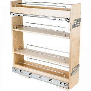 Base Cabinet No Wiggle Pull Out Spice Rack 5 14
